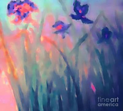 Painting - Iris by Holly Martinson