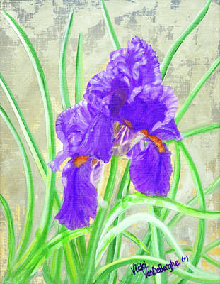 Painting - Iris Hope by Vicki VanDeBerghe