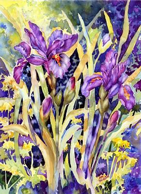 Painting - Iris I by Ann Nicholson