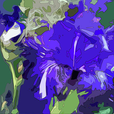 Digital Art - Iris Impressions by Gina Harrison