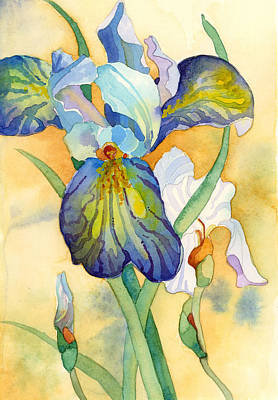 Painting - Iris by Casey Shannon