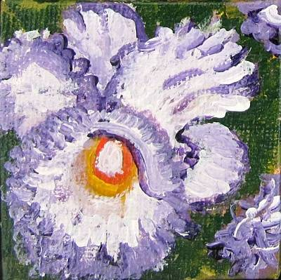 Painting - Iris  by Laurie Morgan