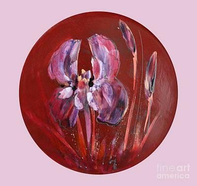 Painting - Iris by Melanie Stanton