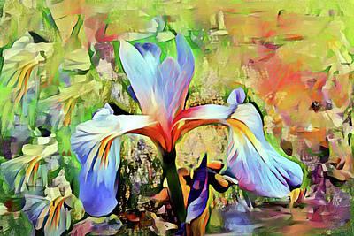 Mixed Media - Iris Oh Iris 2 by Don Wright
