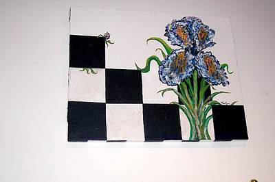 Firefighter Patents Royalty Free Images - Iris Playing Checkers Royalty-Free Image by Kenlynn Schroeder