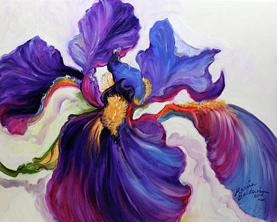 Painting - Iris Serenity by Marcia Baldwin