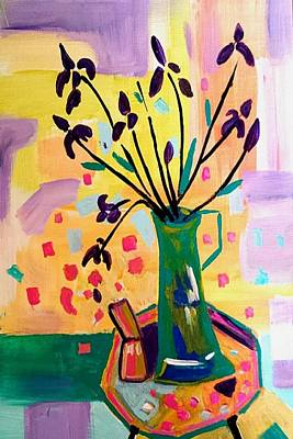 Painting - Iris Spring by Nikki Dalton