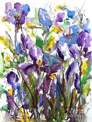Painting - Iris Study I by Lynne Furrer