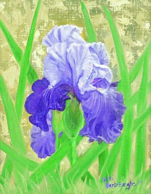 Painting - Iris Valor by Vicki VanDeBerghe