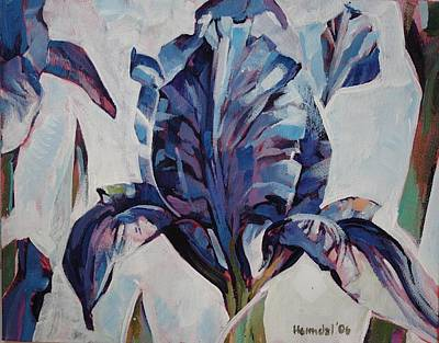 Art Print featuring the painting Iris Winter by Tim  Heimdal