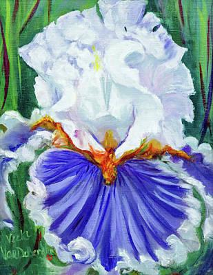 Painting - Iris Wisdom by Vicki VanDeBerghe