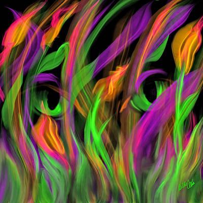 Irises Art Print by Billie Jo Ellis