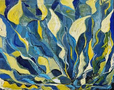 Painting - Irises by Evelina Popilian