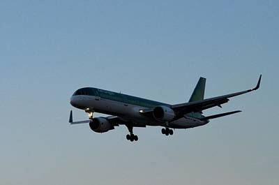 Photograph - Irish Airline by Puzzles Shum