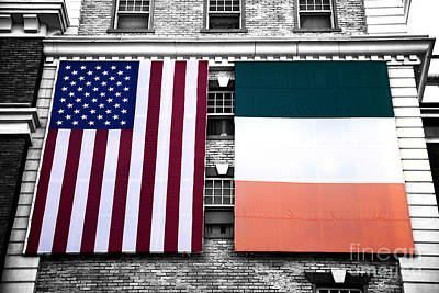 Photograph - Irish American Fusion by John Rizzuto