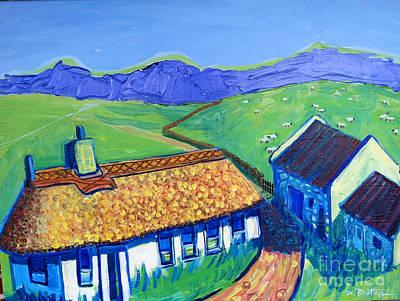 Painting - Irish Ancestral Home by Debra Bretton Robinson