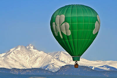 Photograph - Irish Balloon by Scott Mahon