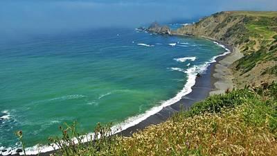 Photograph - Irish Beach Viewpoint by Lisa Dunn