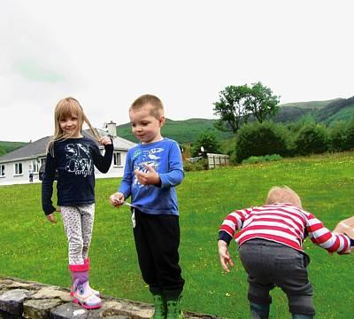 Photograph - Irish Children by Stephanie Moore