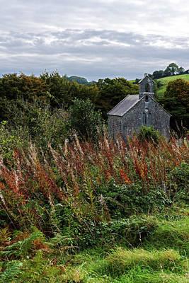 Photograph - Irish Church Among The Grasses by Bill Jordan