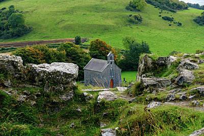 Photograph - Irish Church Between The Rocks by Bill Jordan