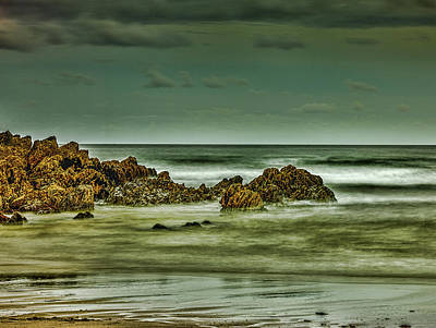 Photograph - Irish Cliff And Sea #h5 by Leif Sohlman