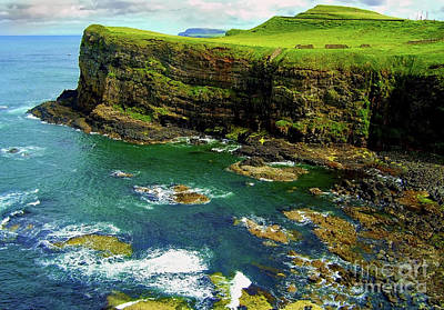 Photograph - Irish Cliffs 2 by Nina Ficur Feenan
