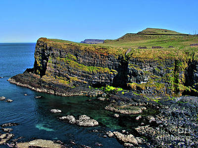 Photograph - Irish Cliffs by Nina Ficur Feenan