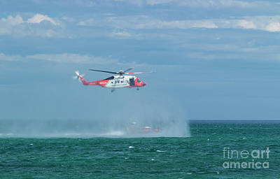 Photograph - Irish Coast Guard And Rnli by Jim Orr