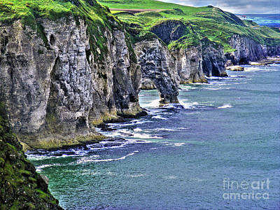 Photograph - Irish Coast by Nina Ficur Feenan