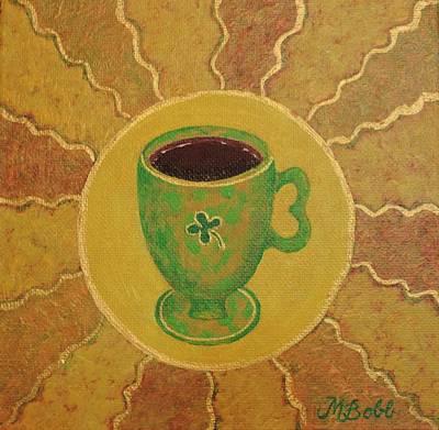 Painting - Irish Coffee by Margaret Bobb
