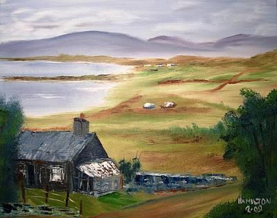 Irish Cottage Art Print