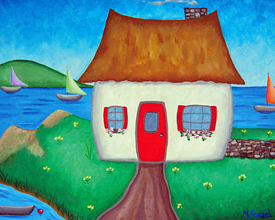 Painting - Irish Cottage by Melissa Fassel Dunn