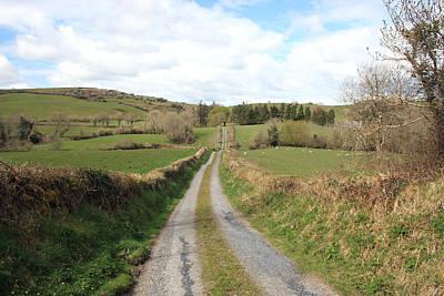 Beautiful Ireland Photograph - Irish Country Road by John Quinn