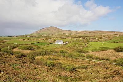 Irish Countryside Cottage Art Print by Scott Pellegrin