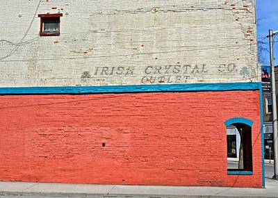 Photograph - Irish Crystal Co. by Tana Reiff