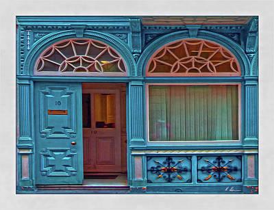 Architektur Digital Art - Irish Door by Hanny Heim