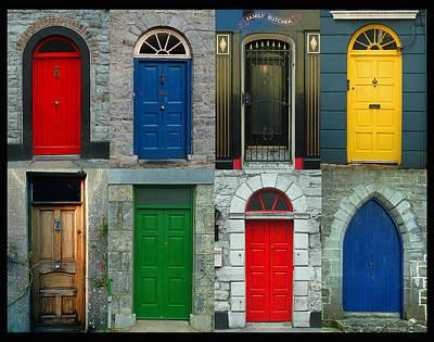 Irish Doors Art Print