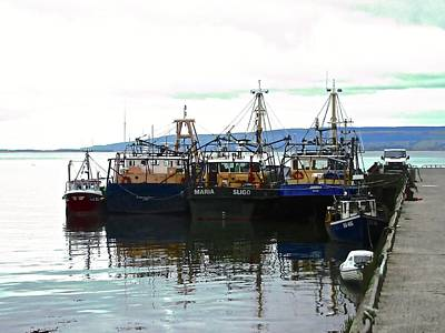 Photograph - Irish Fishing Boats by Stephanie Moore