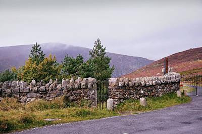 Photograph - Irish Homestead. Wicklow by Jenny Rainbow