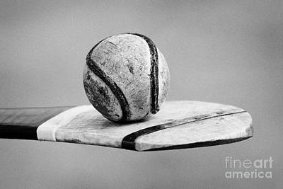 Irish Hurling Ball And Stick Art Print by Joe Fox