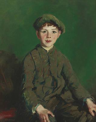 Irish Lad Art Print by Robert Henri