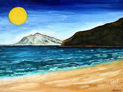 Abstract Beach Landscape Painting - Irish Landscape 21 by Patrick J Murphy