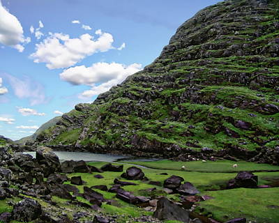 Photograph - Irish Landscape Scenic by Anthony Dezenzio