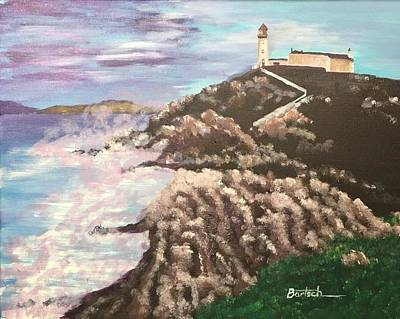 Painting - Irish Lighthouse by David Bartsch