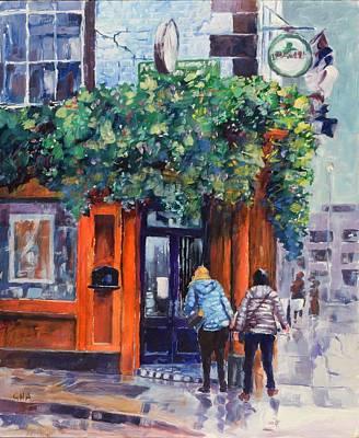 Irish Pub Original by Geoff Amos