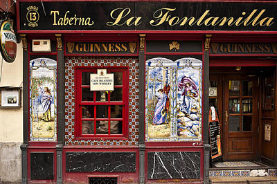 Taberna Photograph - Irish Pub In Spain by John Greim