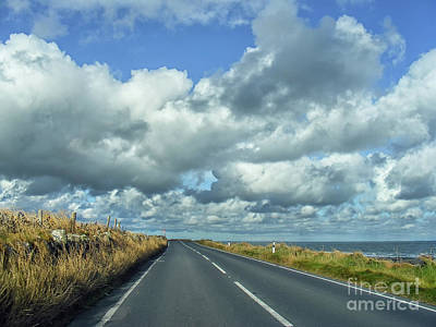 Photograph - Irish Road by Nina Ficur Feenan