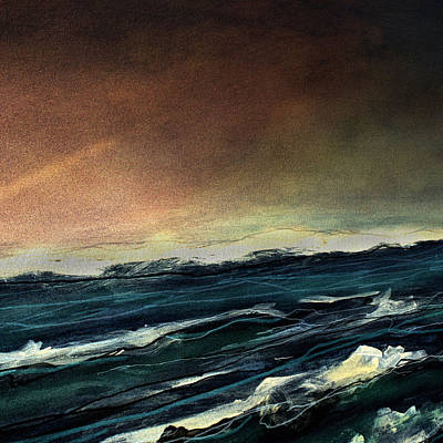 Painting - Irish Sea IIi by    Michaelalonzo   Kominsky