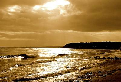 Photograph - Irish Sea by John Kearns